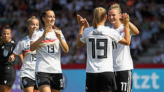 DFB-Frauen starten beim Algarve Cup