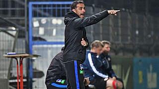 Hertha-Coach Hartmann: Spitzenspiel besonders im Rampenlicht
