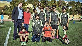700 Trainer, 80.000 Kinder: Unterstützung für Jordanien