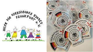 Pin-Spende: 1000 Euro für den guten Zweck