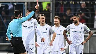 Zwei Spiele Sperre und Geldstrafe für Darmstadts Palsson