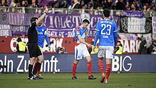 Ein Spiel Sperre und Geldstrafe für Kiels Jonas Meffert