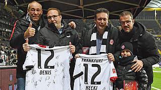 Eintracht Frankfurt ehrt U 17-Teammanager