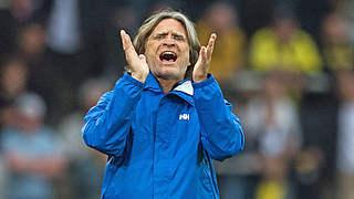 Schalke-Trainer Elgert: Eine zweite Chance bekommst du nicht