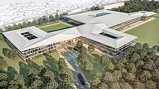 DFB und Mainova AG kooperieren beim Neubau des DFB