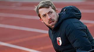 Augsburgs Trainer Frankenberger: Talent ist keine Garantie