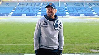 Wollitz: Schnellstmöglich mit FCM in 2. Bundesliga zurückkehren