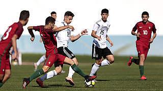 U 16 unterliegt zum Abschluss Portugal