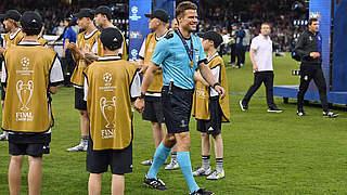 Brych: Rekordeinsatz in Champions League