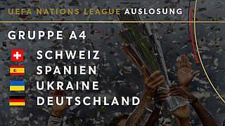 Nations League: DFB-Team gegen Ukraine, Spanien und Schweiz