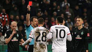 Vier Pokalspiele Sperre für Frankfurts Kostic