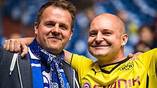 Kumpelkiste 2.0: Schalker und Dortmunder engagieren sich