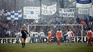 Vor 33 Jahren: Stuttgarter Kickers sensationell im Pokalfinale