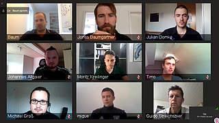 Trainer im Videochat: Wertvolle Tipps von Baum und Streichsbier