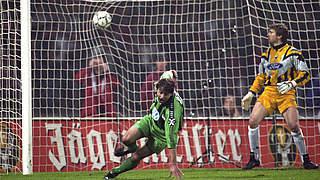 Als Reich Zweitligist Wolfsburg ins Pokalfinale schoss