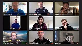 Wück und Meister im Videochat: Tipps für Amateurtrainer