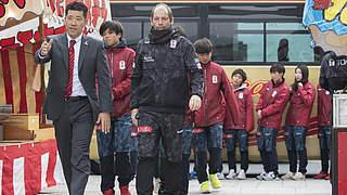 Trainer Gert Engels: Die Selbstdisziplin in Japan ist groß