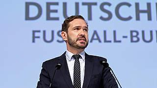 Stellungnahme von DFB-Generalsekretär Curtius zur 3. Liga