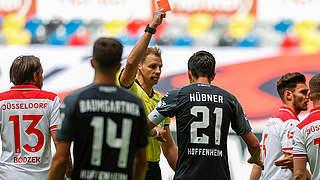 Ein Spiel Sperre für Hoffenheims Hübner