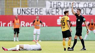 Zwei Spiele Sperre für Dresdens Löwe