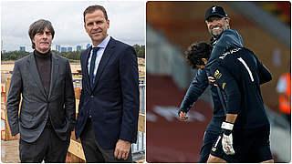 Bierhoff und Löw gratulieren Klopp