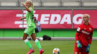 Toptorjägerin Harder: Das war mein bestes Jahr in Wolfsburg