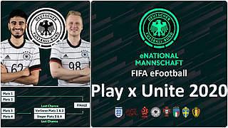Starke Nationen messen sich bei FIFA Play x Unite 2020