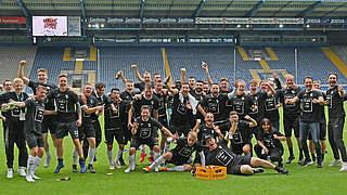 Verl schafft erstmals Aufstieg in die 3. Liga
