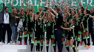 Video: Sieg vom Punkt - Wolfsburg feiert 6. Pokalsieg in Serie