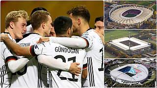 Nächste Heimländerspiele in Stuttgart, Köln und Leipzig