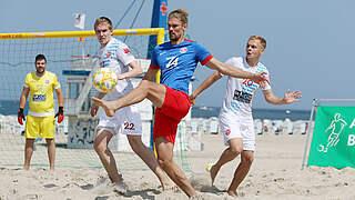 Beachsoccer-Liga nimmt Spielbetrieb auf