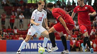 Futsal-DM: DFB-TV überträgt Endrunde live