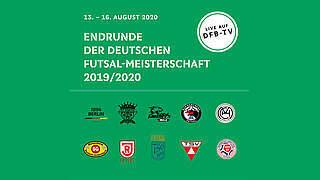 Futsal: So läuft die Endrunde um die Deutsche Meisterschaft