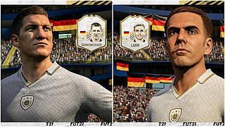 FIFA 21: Weltmeister Lahm und Schweinsteiger werden Icons