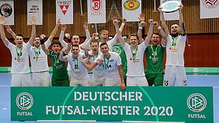 Hohenstein-Ernstthal zum zweiten Mal Deutscher Meister