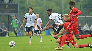 Erfolgreicher Mittag: U 17 mit zwei Siegen gegen Belgien