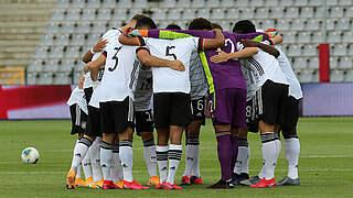 Nächsten Schritt machen: U 19 gegen Belgien