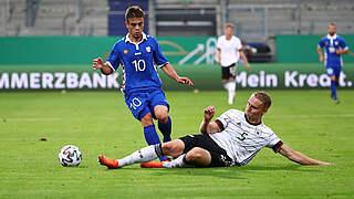 Pieper ist Spieler des Moldau-Spiels