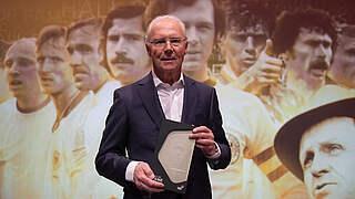 Brillant und lässig: Beckenbauer wird 75