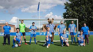 Blindenfußball-Bundesliga: Hertha neu dabei