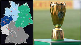 Erstrundenauslosung live auf DFB-Kanälen
