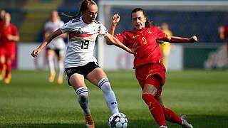 Sophia Kleinherne ist Spielerin des Montenegro-Spiels