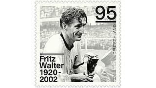 Zum 100. Geburtstag: Post ehrt Fritz Walter mit Briefmarke