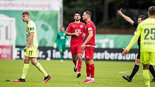 Zwei Spiele Sperre für Florian Carstens von Wehen Wiesbaden