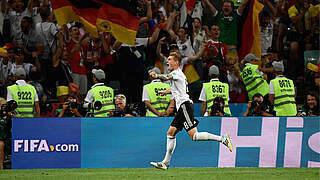 Jubiläum: Kroos vor seinem 100. Länderspiel