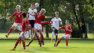 Furiose erste Halbzeit: U 16 besiegt Dänen