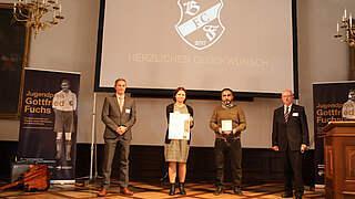 Bosporus FC Friedlingen mit Gottfried-Fuchs-Medaille ausgezeichnet