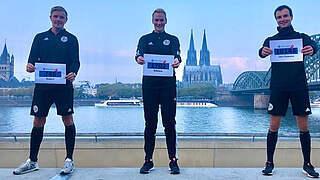 Referees kick cancer: Lauf für guten Zweck