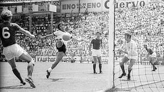 Gerd Müllers wichtigste Länderspieltore