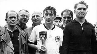 Fritz Walter: Weltmeister-Kapitän und erster Ehrenspielführer